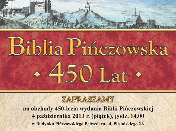 biblia pinczowska